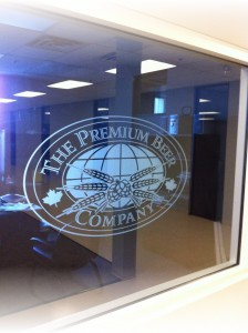 Corporate Logo Designs Using Window Films
